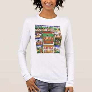 Vishnu au centre de ses dix avatars, Jaipur, R T-shirt À Manches Longues