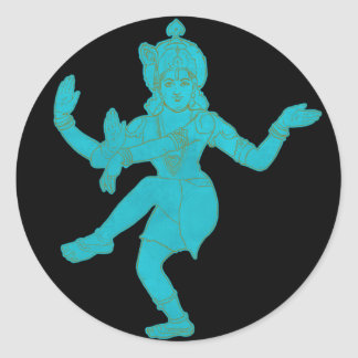 Vishnu Sticker Rond