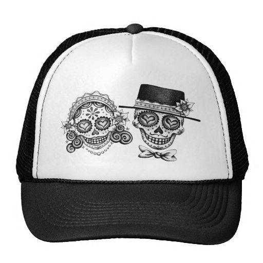 Visibilité directe Novios - Dia de los Muertos Hat Casquettes