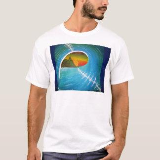 Vision télescopique de chemise de pièce en t t-shirt