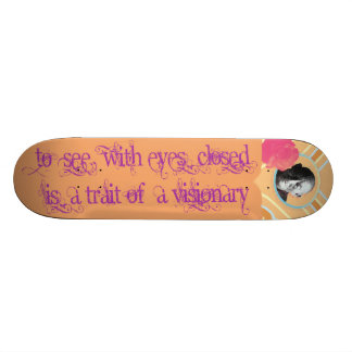 Visionnaire Plateaux De Skateboards