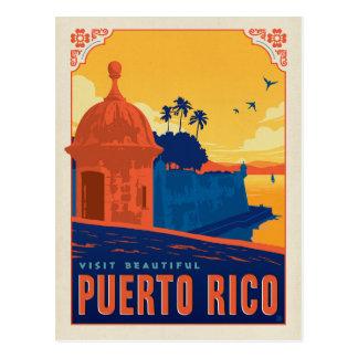Visite beau Porto Rico Carte Postale