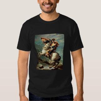 Visite de champ de bataille de napoléon avec la t-shirt
