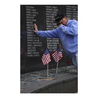 Visite du mur commémoratif du Vietnam, DC de Papeterie