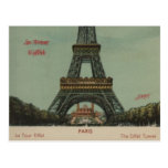 visite Eiffel, 1928 de La - carte postale