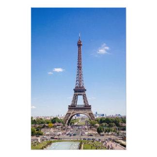 Visite Eiffel de La de Paris sur la photographie