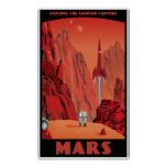 Visite Mars Posters
