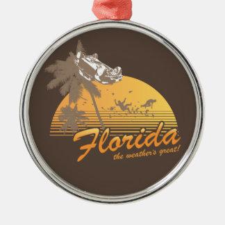 Visitez la Floride, le temps splendide - ouragan Décoration De Noël