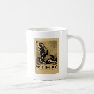 Visitez le zoo mug