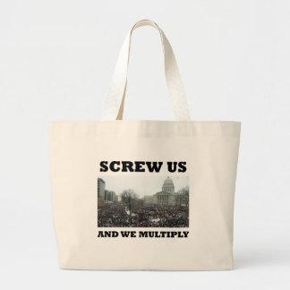 Vissez-nous et nous nous multiplions grand sac