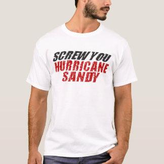 VISSEZ-VOUS T-shirt de Sandy d'ouragan