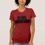 Vitesse allée de Squatchin de Bobo drôle T-shirts