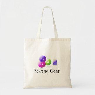 Vitesse de couture sac en toile