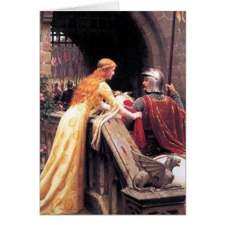 Vitesse de Dieu par Edmund Blair Leighton Carte De Vœux