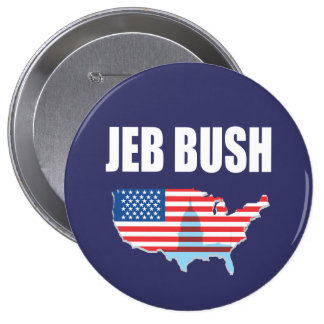 Vitesse d'élection de JEB BUSH Pin's
