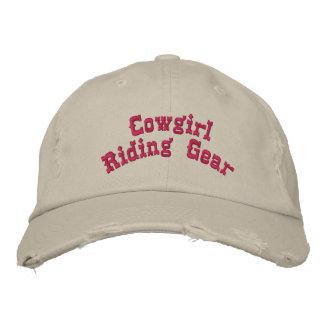 Vitesse d'équitation de cow-girl casquette brodée