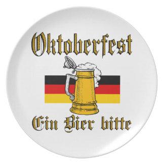 Vitesse d'Oktoberfest Assiettes En Mélamine