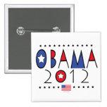 Vitesse du Président Barack Obama 2012 Badge Avec Épingle