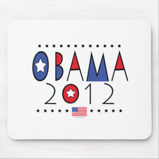 Vitesse du Président Barack Obama 2012 Tapis De Souris