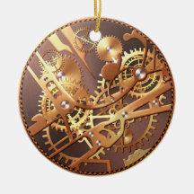 vitesses de montre de steampunk ornement