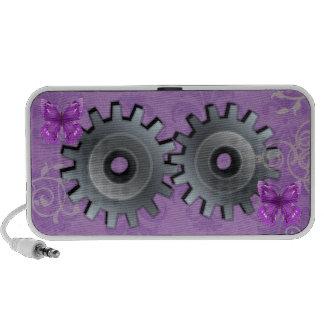 Vitesses de papillon haut-parleurs portables