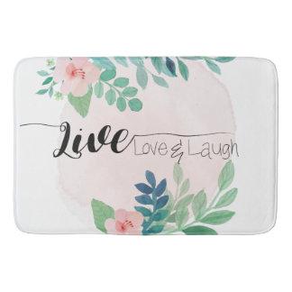 Vivant, amour, tapis de bain floral de Boho | de
