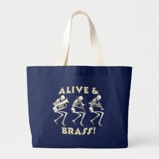 Vivant et en laiton ! grand sac