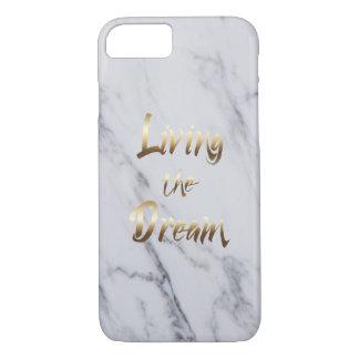 Vivant la typographie de inspiration de rêve coque iPhone 7