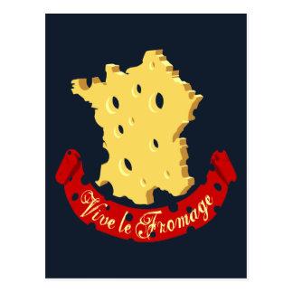 Vive le Fromage Carte Postale