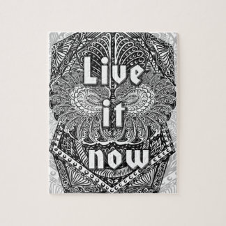 Vivent il maintenant - Quote´s positif Puzzle