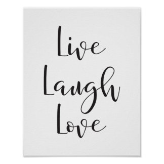 Vivent l'amour de rire, copie de motivation et posters