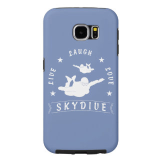 Vivent l'amour Skydive. de rire