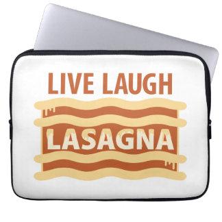 Vivent le lasagne de rire protection pour ordinateur portable