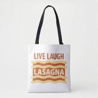 Vivent le lasagne de rire tote bag