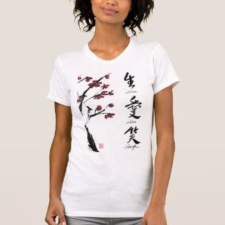 Vivent le T-shirt d'amour de rire