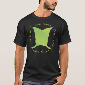 Vivent le vert, aiment le vert, pensent le vert, t-shirt