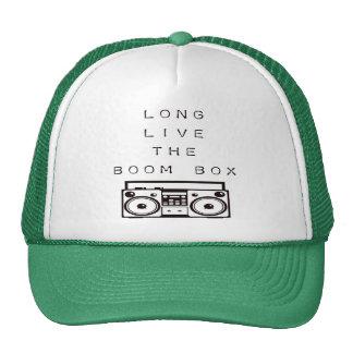 Vivent longtemps le Boîte-Casquette de boom Casquettes