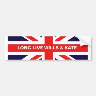 Vivent longtemps les volontés et le Kate Autocollant De Voiture