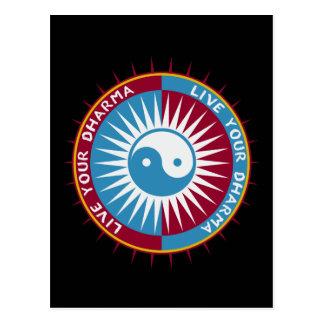Vivent votre Dharma Carte Postale