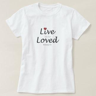 Vivez comme le votre aimé.  5:8 de Romains T-shirt