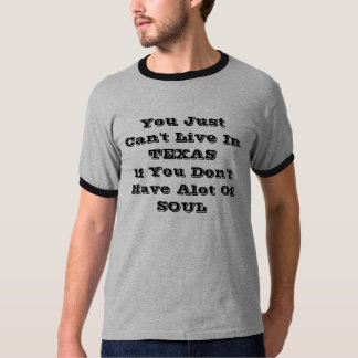 Vivez dans le T-shirt du Texas