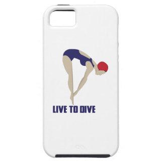 Vivez pour plonger coques iPhone 5
