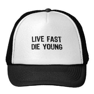 Vivez rapidement, mourez des jeunes casquettes de camionneur