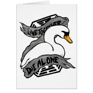 Vivez seul meurent ensemble cartes
