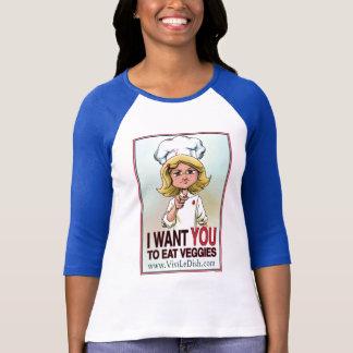 Vivi T-shirt végétarien du vengeur des femmes de