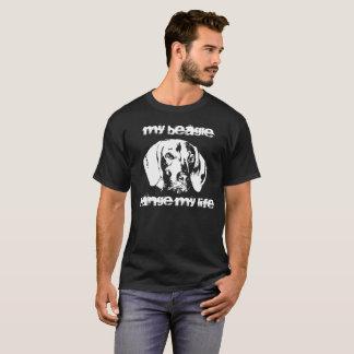 Vizsla, beagle, amitié avec le chien t-shirt