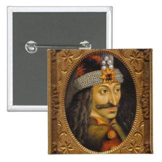 Vlad le bouton d'Impaler Badge Carré 5 Cm