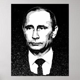 Vladamir Poutine font face Posters