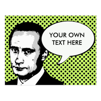 Vladimir Poutine Carte Postale