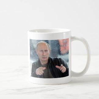 Vladimir Poutine Mug Blanc